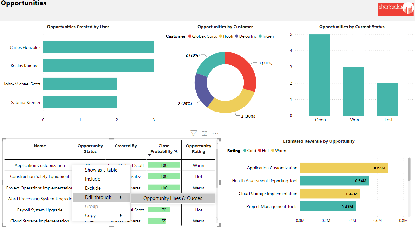 Stratada – Microsoft Project Operations – Opportunities